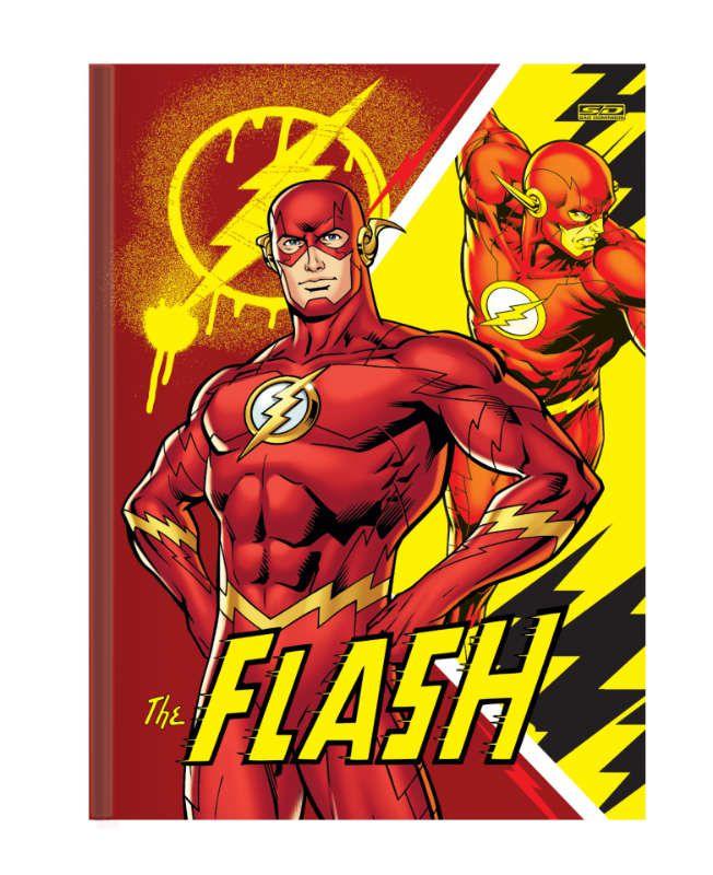 Caderno Brochura C/D 96 Folhas The Flash Sao Domingos