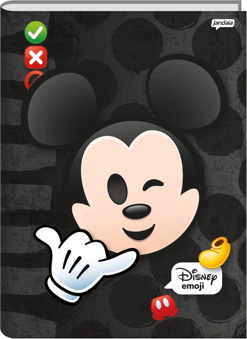Caderno Brochurao C/D 48 Folhas Dsiney Emoji Jandaia