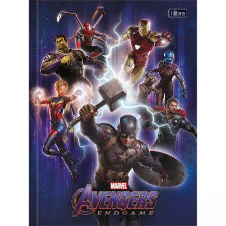 Caderno Brochurao C/D 80 Folhas Avengers Endgame Tilibra