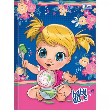 Caderno Brochurao C/D 80 Folhas Baby Alive TIilibra