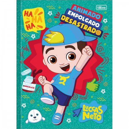 Caderno Brochurao C/D 80 Folhas Luccas Neto Tilibra