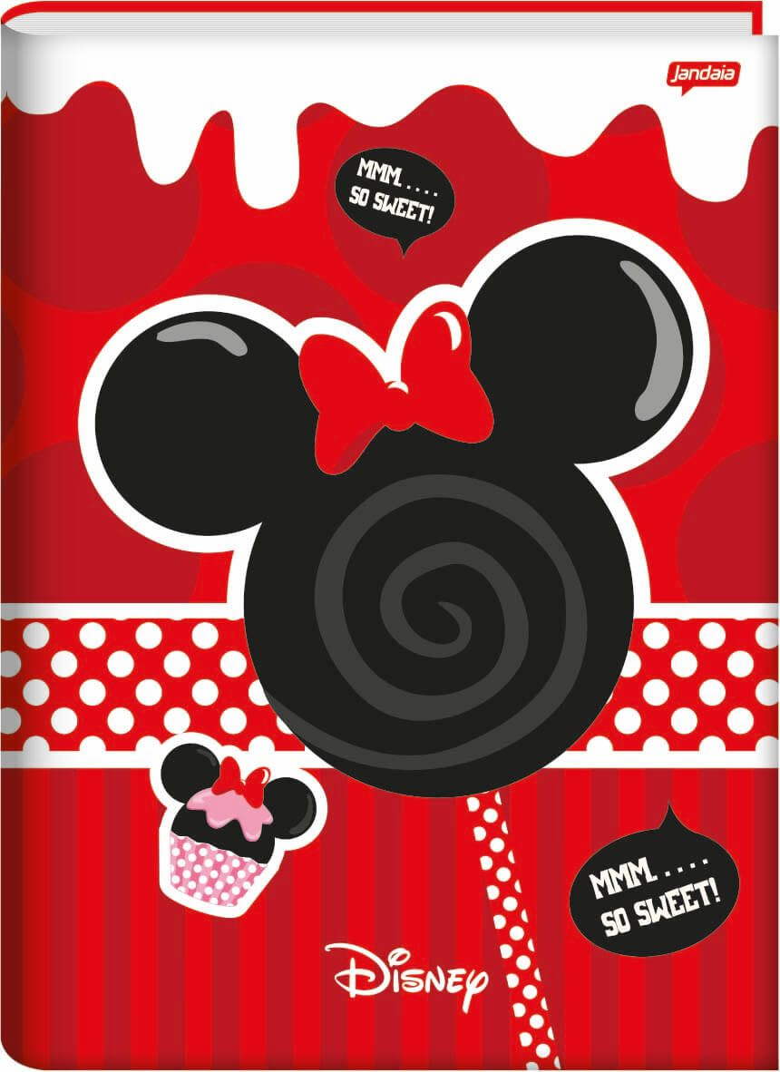 Caderno Brochurao C/D 96 Folhas Disney Sweetie Jandaia