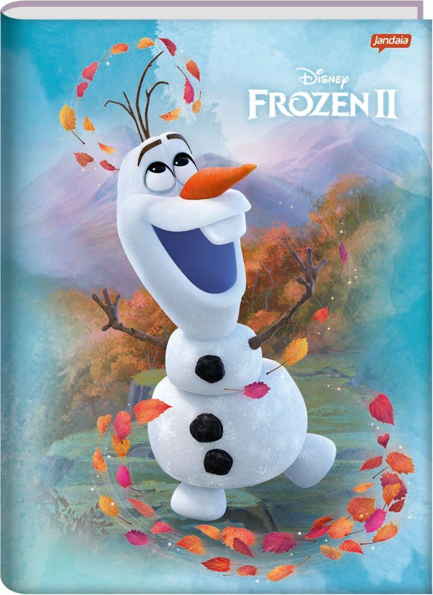 Caderno Brochurao C/D 96 Folhas Frozen Jandaia