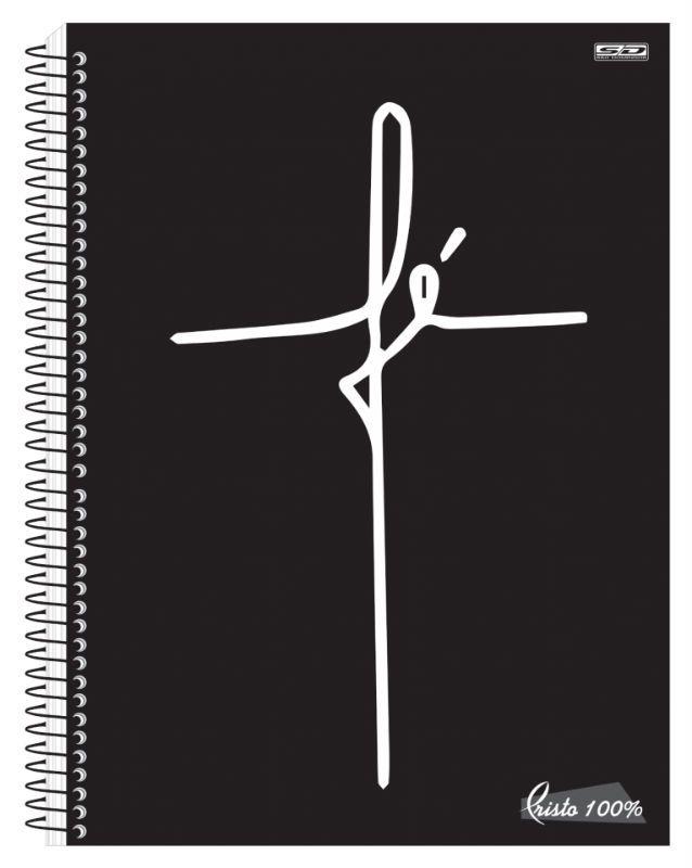 Caderno C/D 01 Materia Cristo Sao Domingos