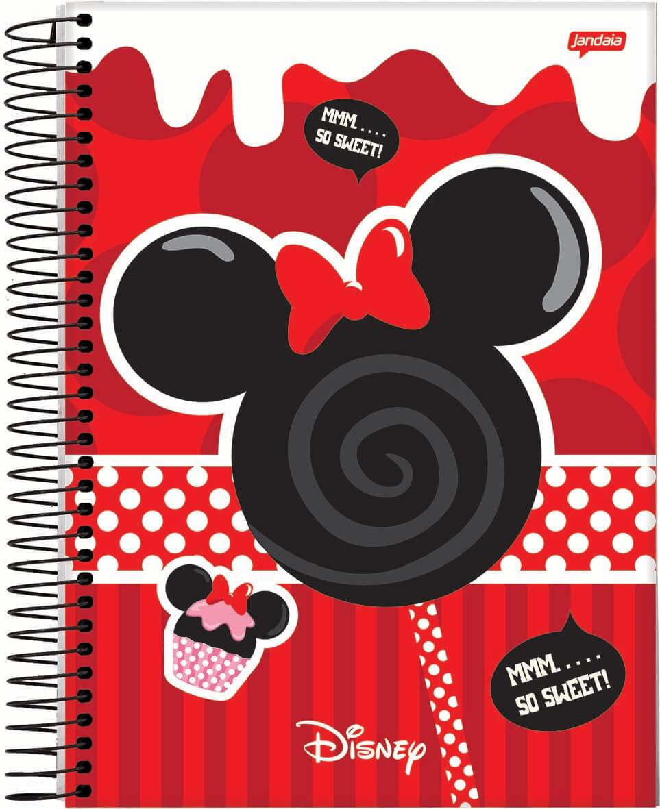 Caderno C/D 01 Materia Disney Sweetie Jandaia