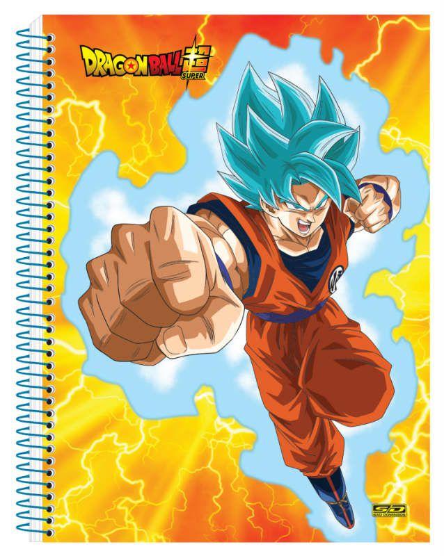 Caderno C/D 01 Materia Dragon Ball Sao Domingos