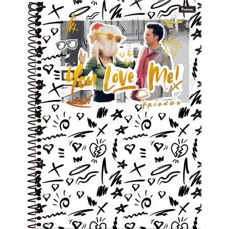 Caderno C/D 01 Materia Friends Foroni