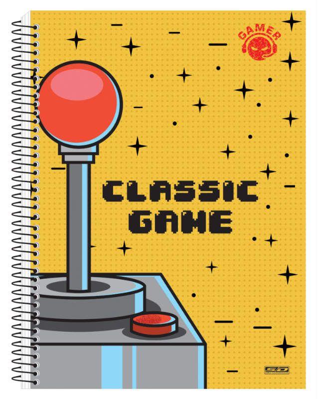 Caderno C/D 01 Materia Gamer Sao Domingos