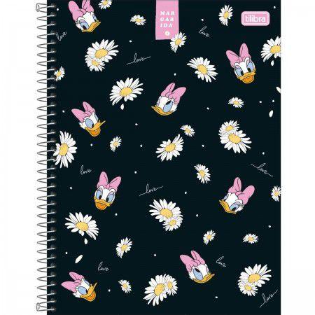 Caderno C/D 01 Materia Margarida 80 Folhas Tilibra