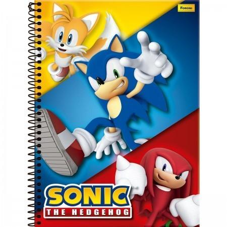 Caderno C/D 01 Materia Sonic Foroni