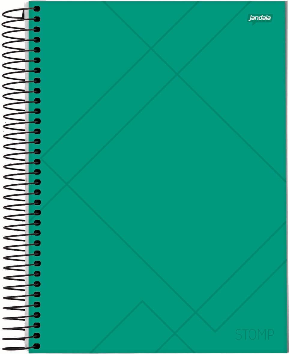 Caderno C/D 01 Materia Stomp Jandaia