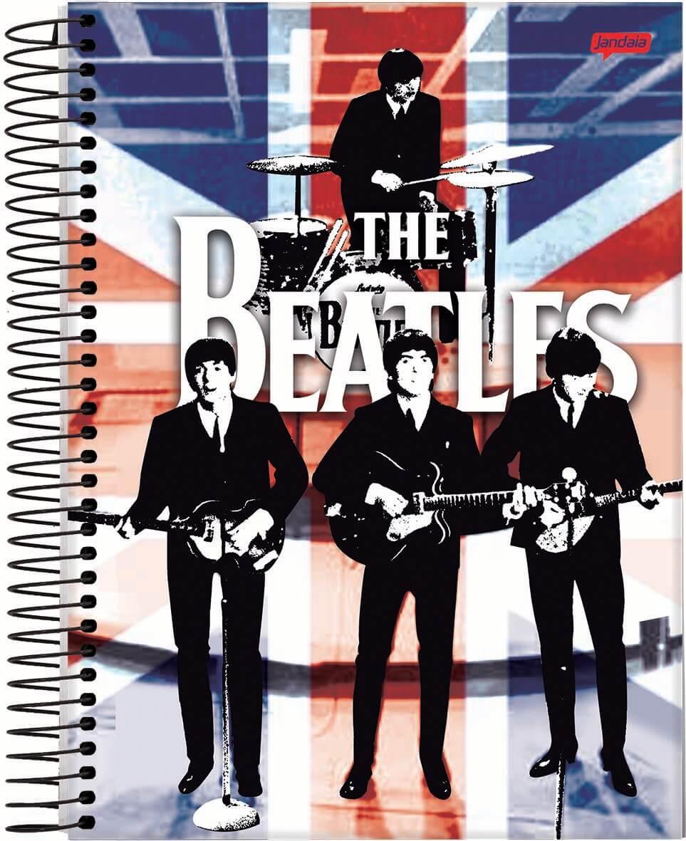Caderno C/D 10 Materias Beatles Jandaia