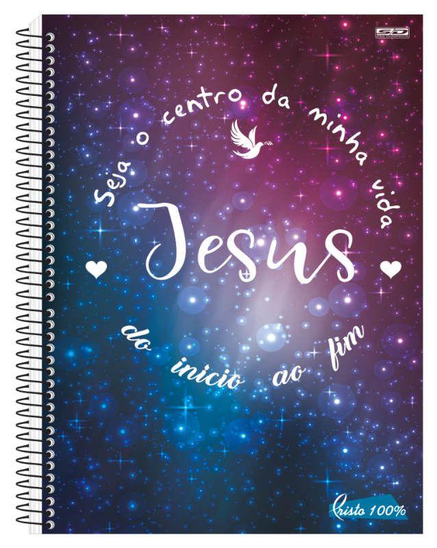 Caderno C/D 10 Materias Cristo Sao Domingos
