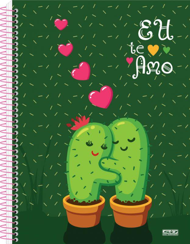 Caderno C/D 15 Materias EU Te Amo Sao Domingos