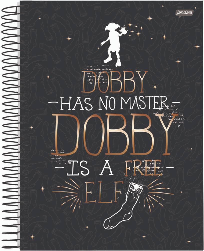 Caderno C/D 15 Materias Harry Potter Jandaia