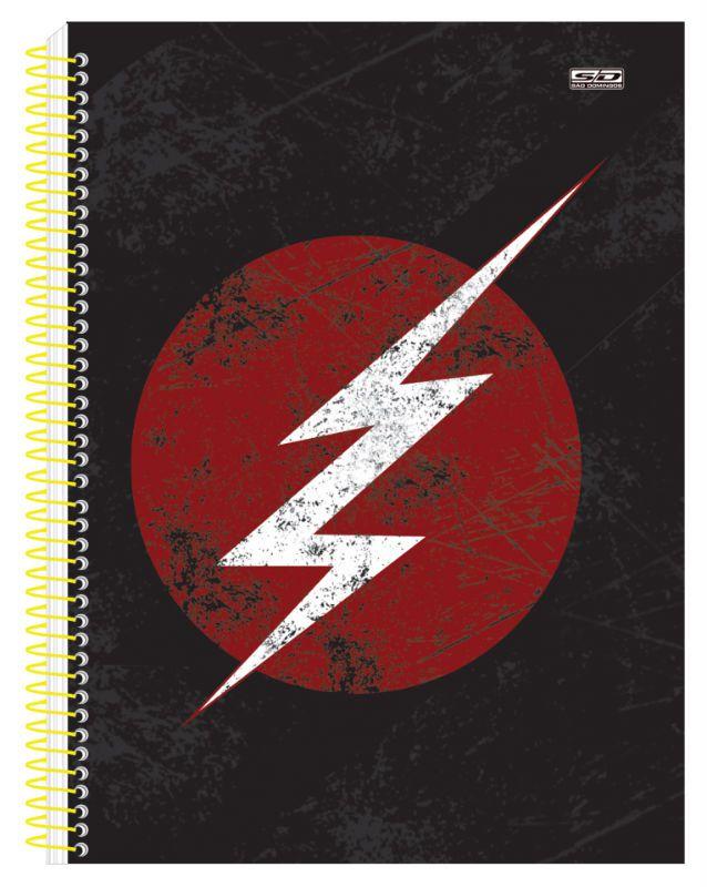 Caderno C/D 15 Materias The Flash Sao Domingos