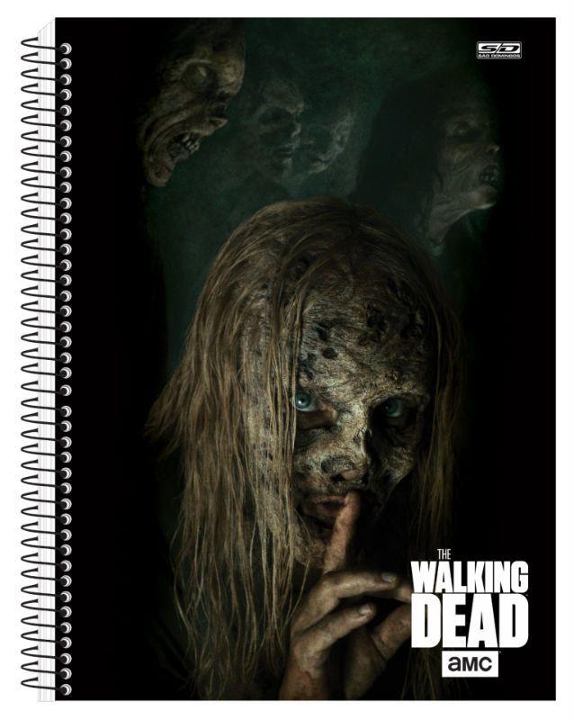 Caderno C/D 15 Materias The Walking Dead Sao Domingos