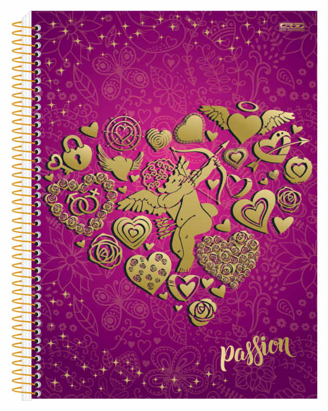 Caderno C/D 20 Materias Passion Sao Domingos