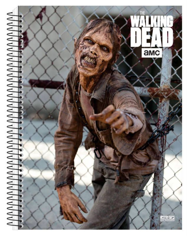 Caderno C/D 20 Materias The Walking Dead Sao Domingos