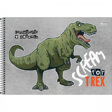 Caderno Cartografia C/D 80 Folhas Raptor Tilibra
