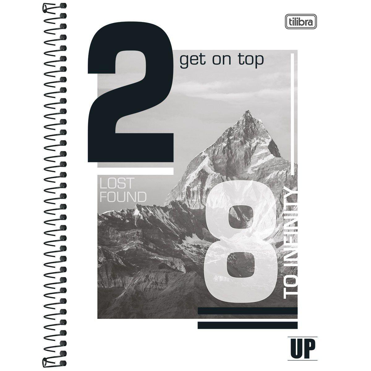 Caderno Universitário 16 Matérias Up 256 Folhas Tilibra