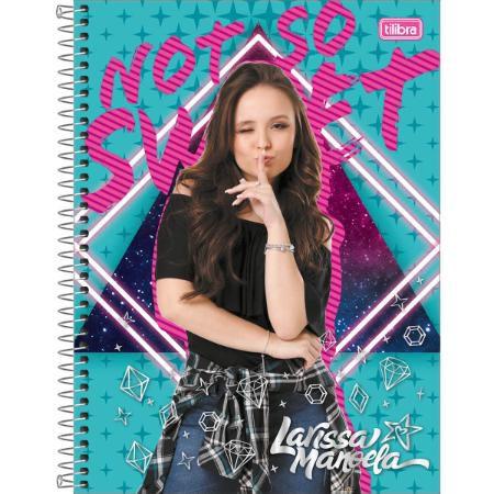 Caderno Universitário 1 Matéria Larissa Manoela 80 Folhas Tilibra
