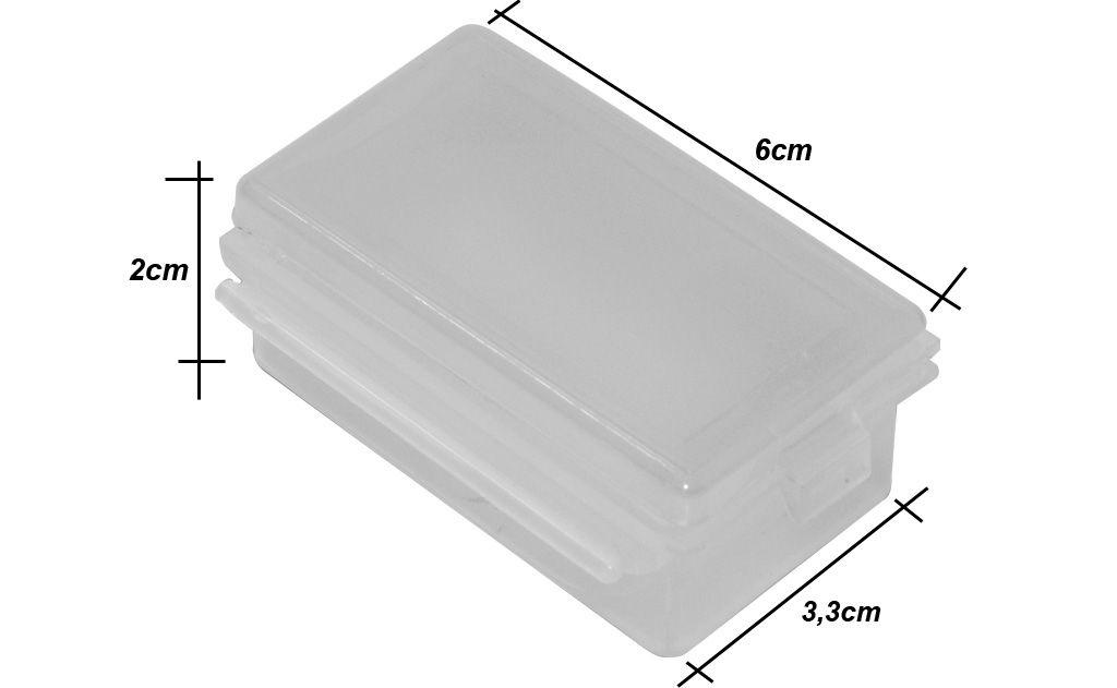 Caixa Para Anzol Multi Box 10 Peças Maruri