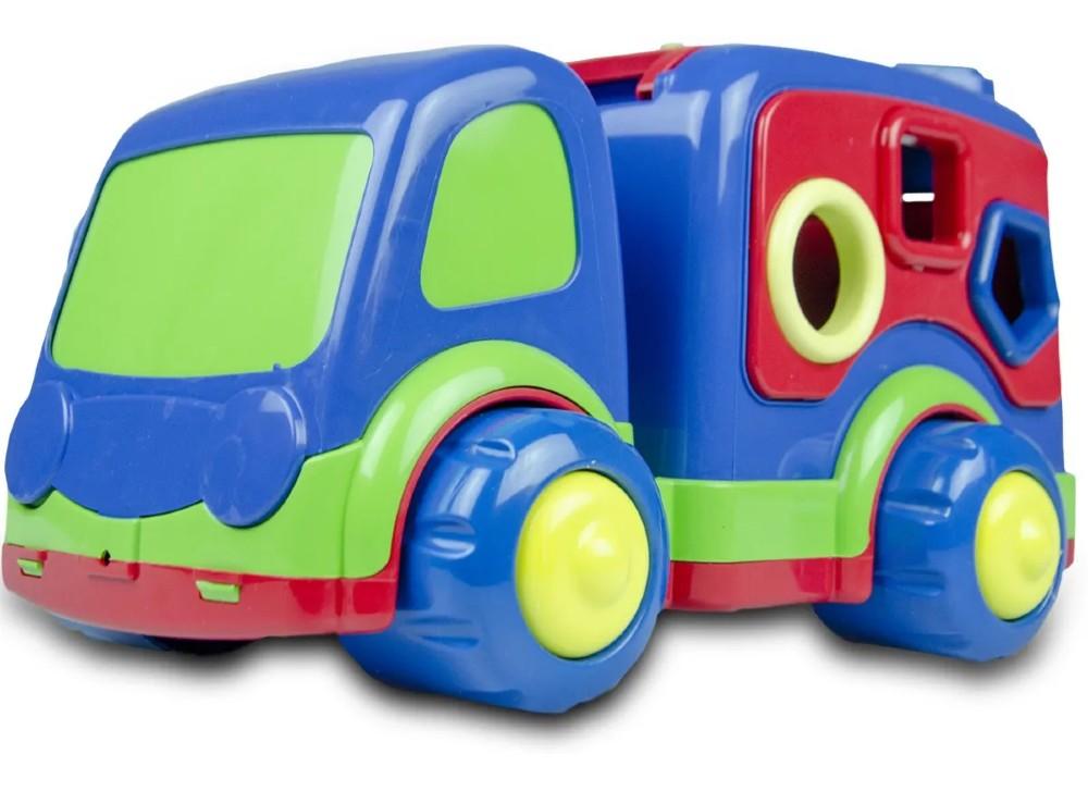 Caminhao Baby Didatico Super Toys