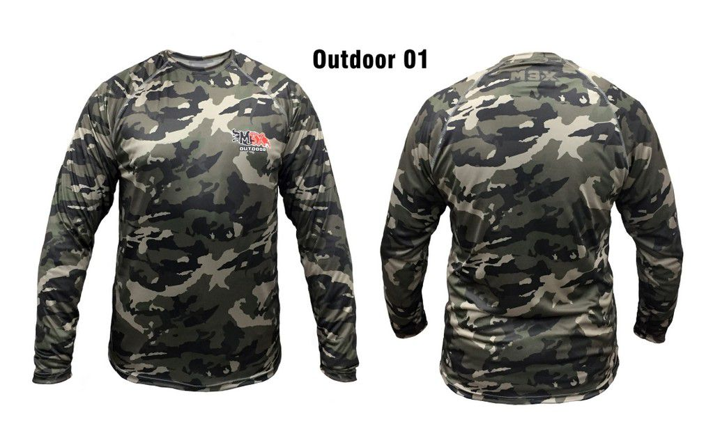 Camisa Pesca Outdoor P 01 Monster 3x