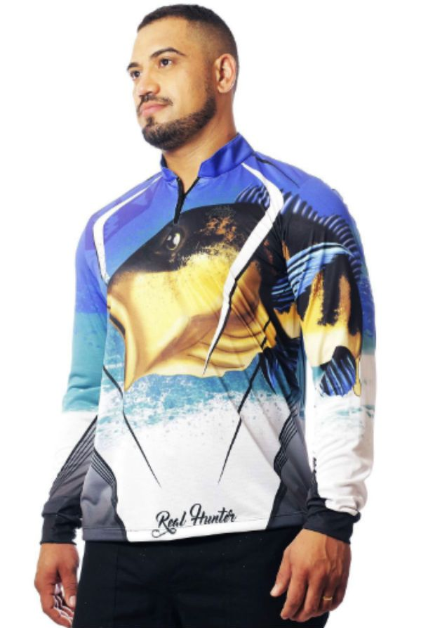 Camisa Pesca Tucunare G 3 Real Hunter