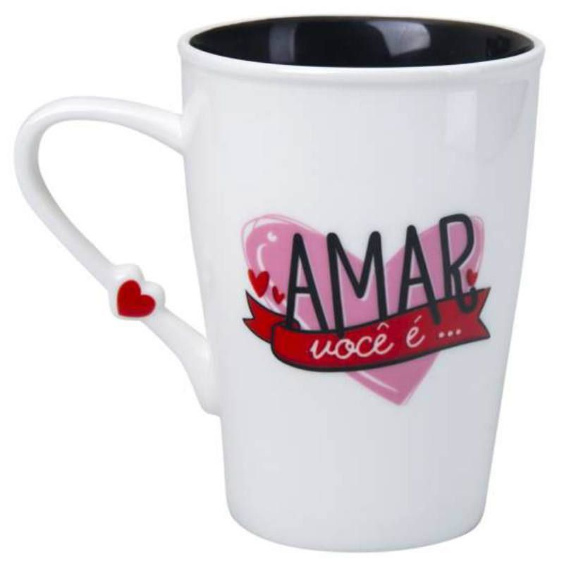 Caneca Pop Up 430ml Amar Voce É Uatt