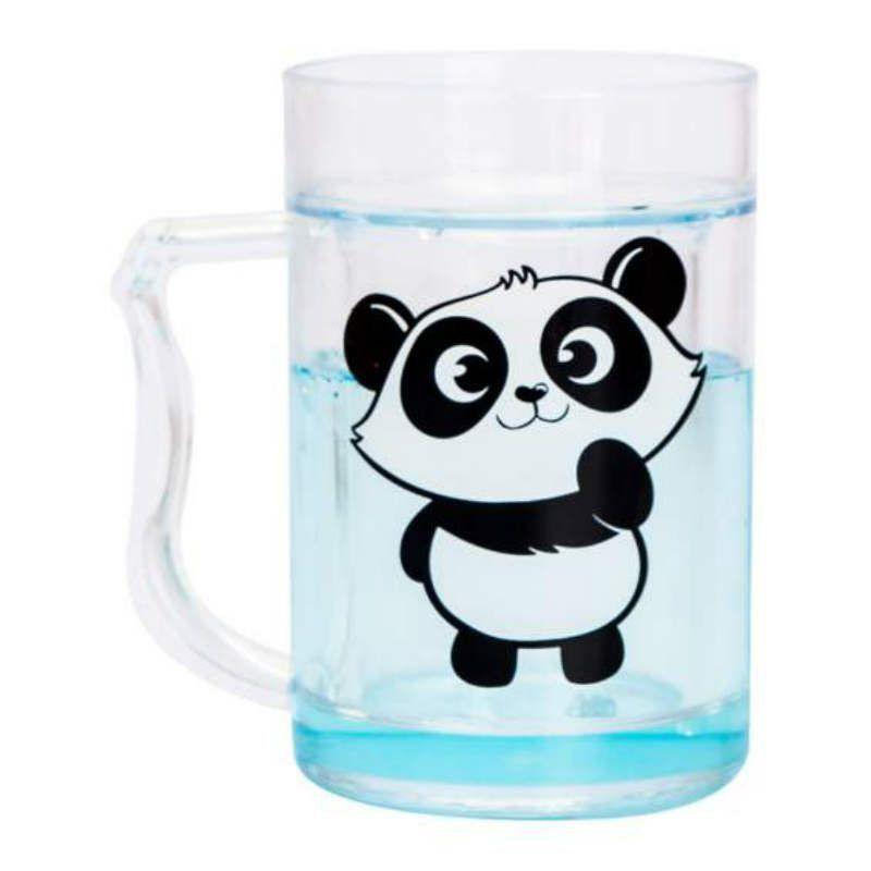 Caneco Mini Congelavel 250ml Panda Uatt