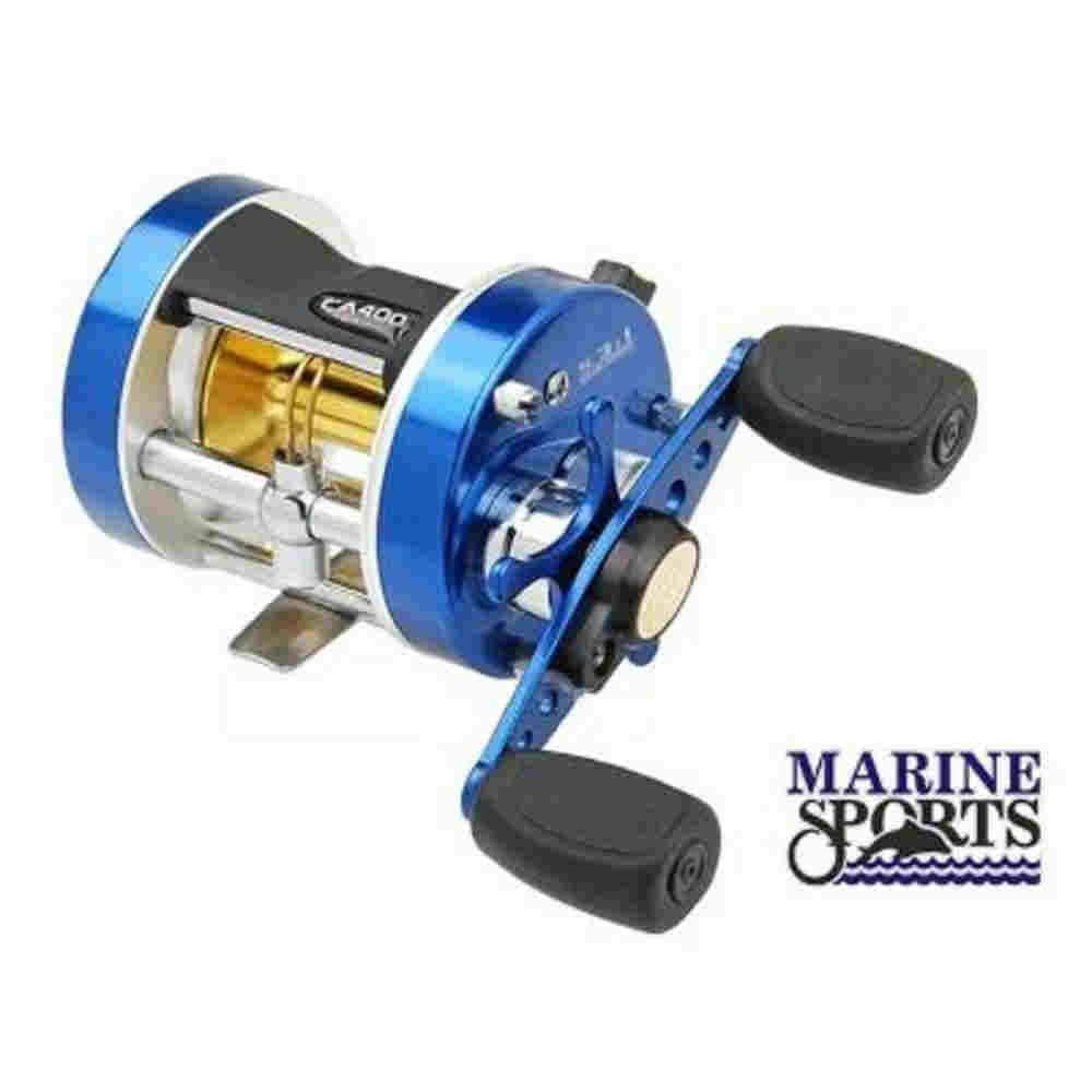 Carretilha Caster 400l 3 Rolamentos Esquerda Marine Sports