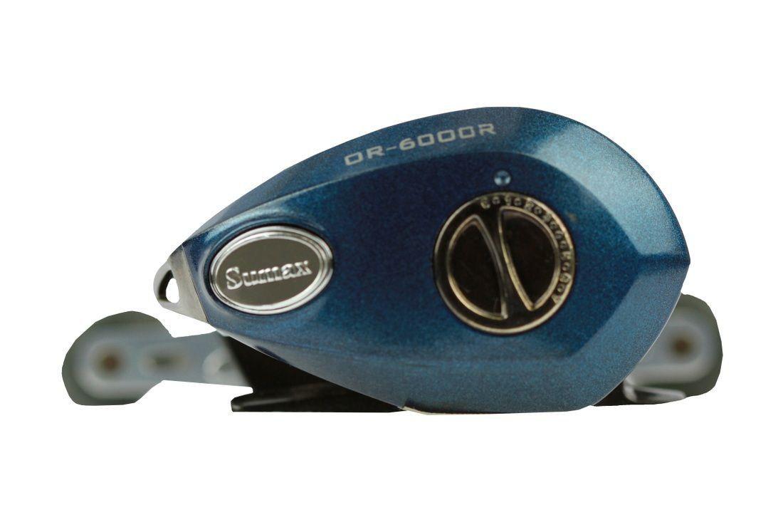 Carretilha De Pesca Orion 6bb Or-6000l Esquerda Azul Sumax