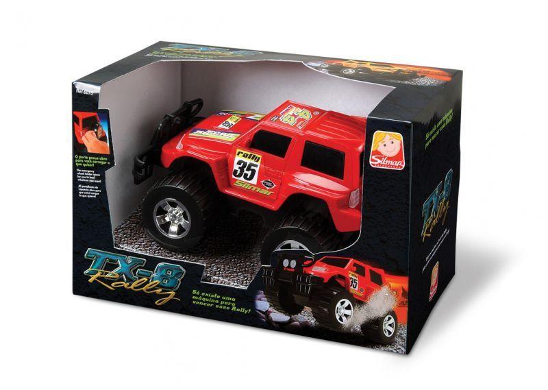 Carrinho De Brinquedo Tx-8 Rally Silmar