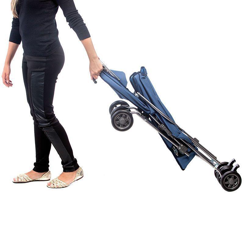 Carrinho De Passeio Para Bebê Náutico Azul Hércules