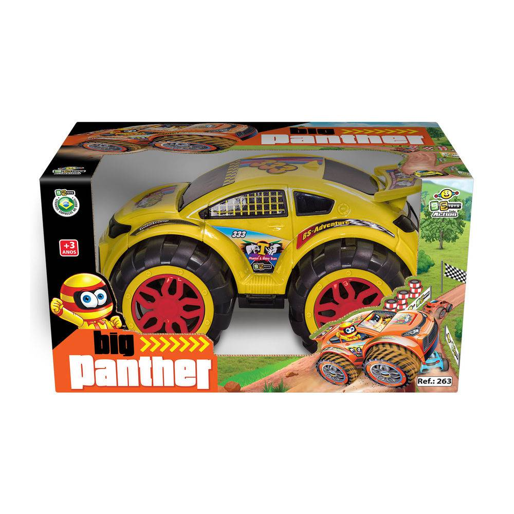 Carro Big Panther Car Bs Toys