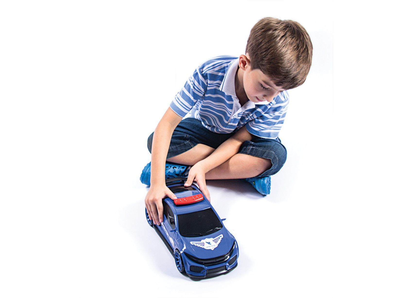 Carro Policia Verdum Max Bs Toys