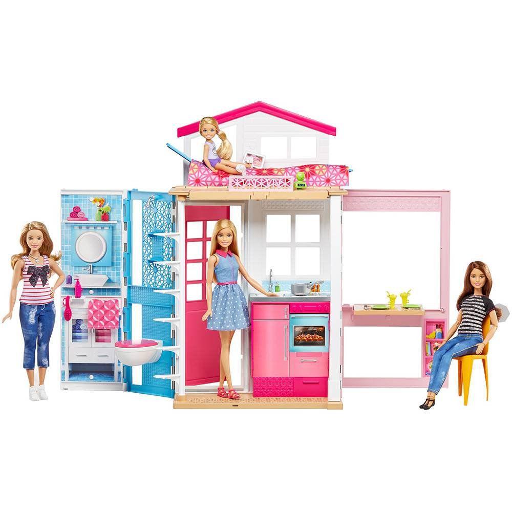Casa Da Barbie Barbie Real Barbie E Sua Casa