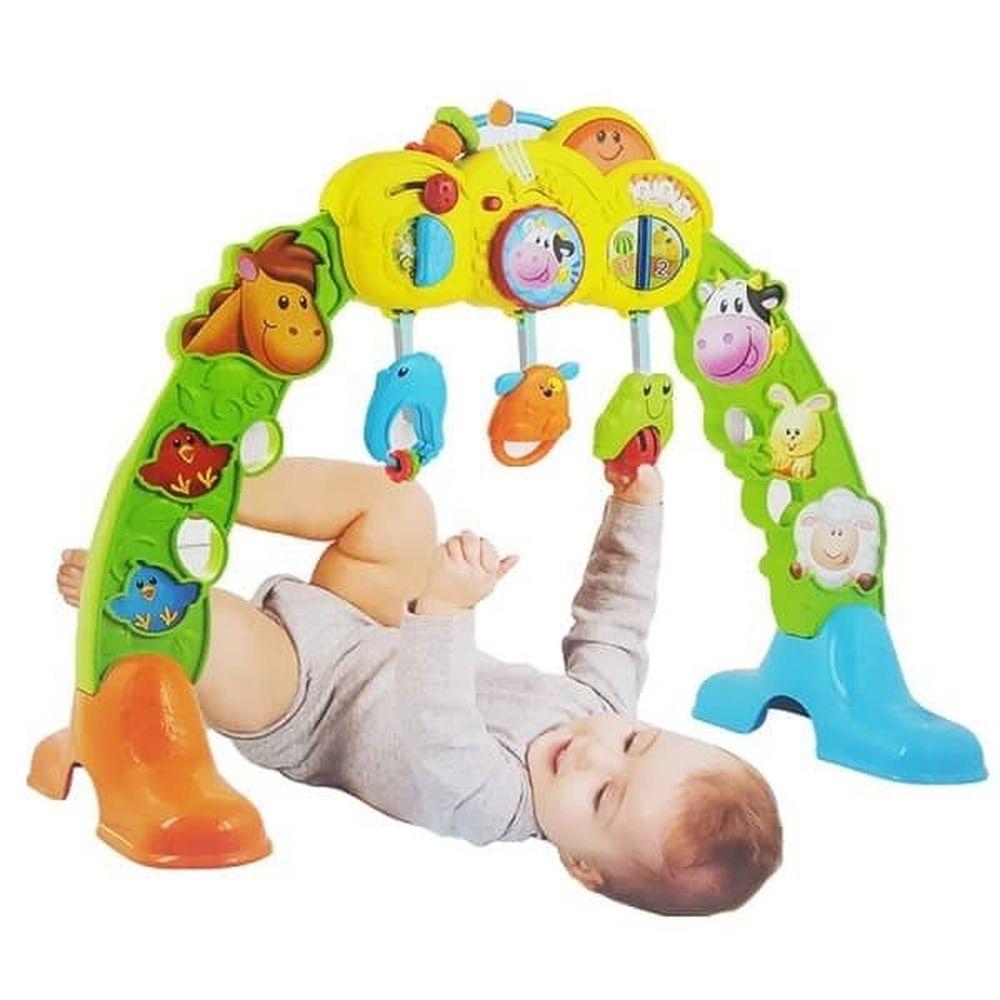 Centro De Atividades 3 Em 1 Amiguinhos Da Fazenda Winfun Yes Toys