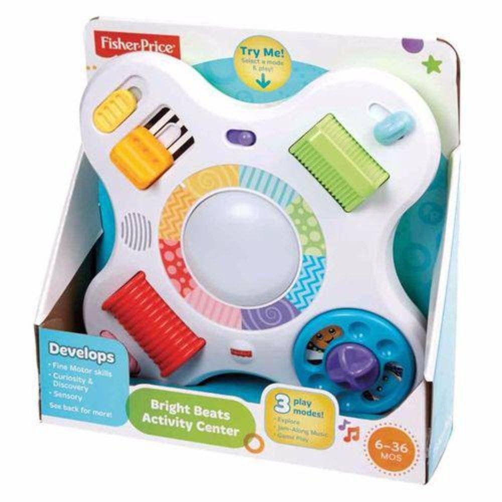 Centro De Atividades Cores E Sons Fisher Price Mattel