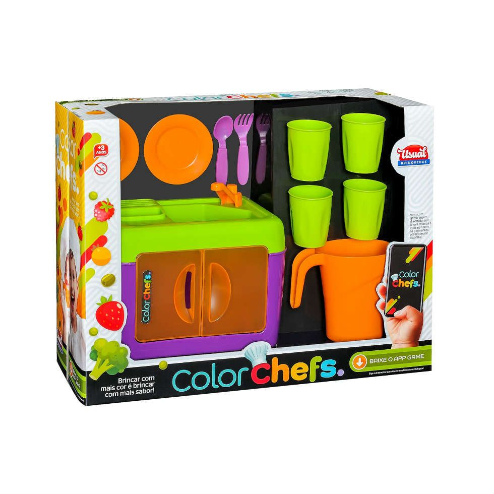 Color Chefs Kit Pia Usual Brinquedos