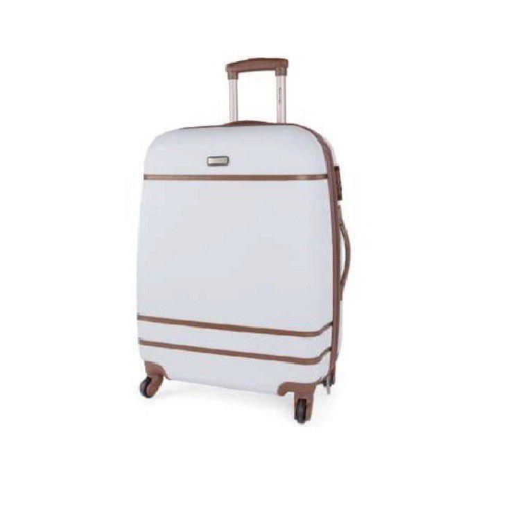 Conjunto Com Duas Malas De Viagem Brancas Mf10050pk Polo King - M - G