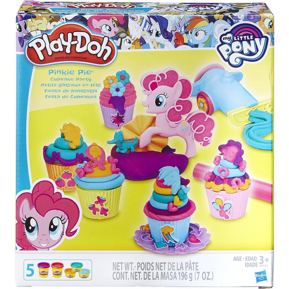 Conjunto Playdoh Festa Cupcake Pinkie Pie Hasbro