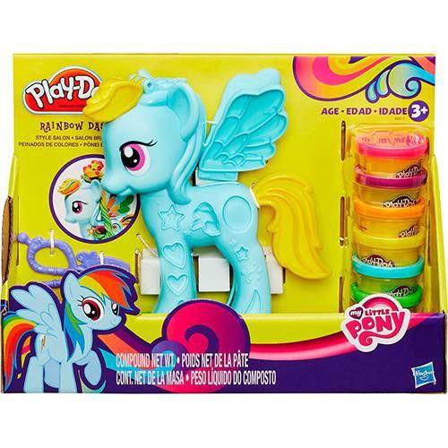 Conjunto Playdoh My Little Pony Pônei E Penteados Hasbro