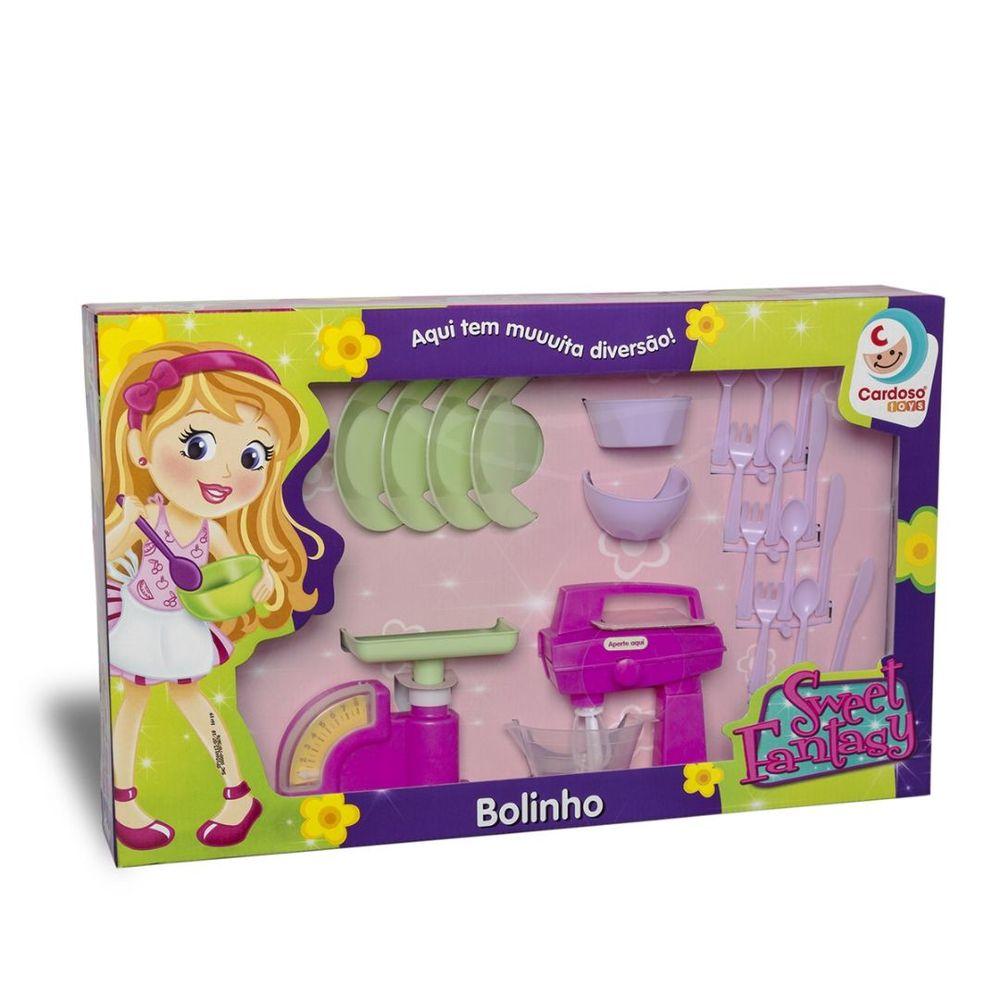 Conjunto Sweet Fantasy Bolinho Cardoso Toys