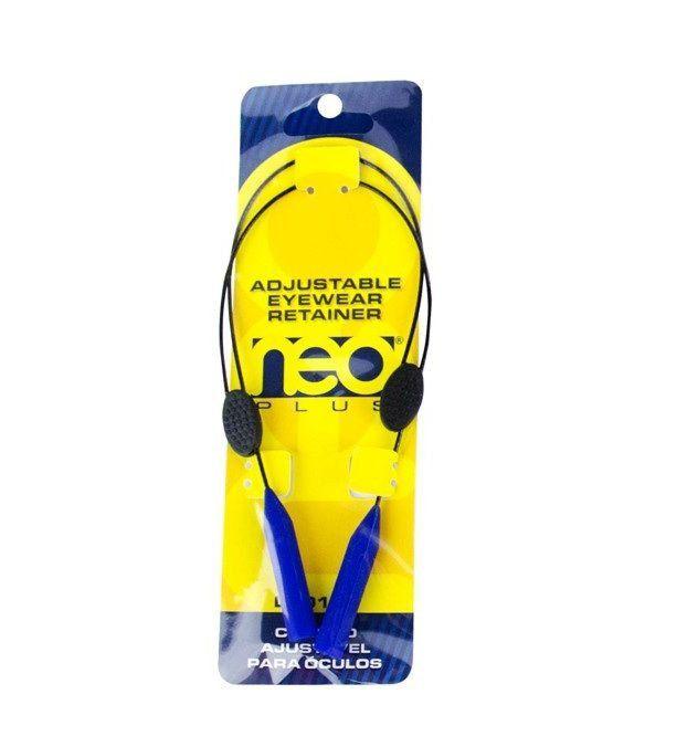 Cordao Retratil Para Oculos Segurador Marine Sports Azul Ou Preto Azul