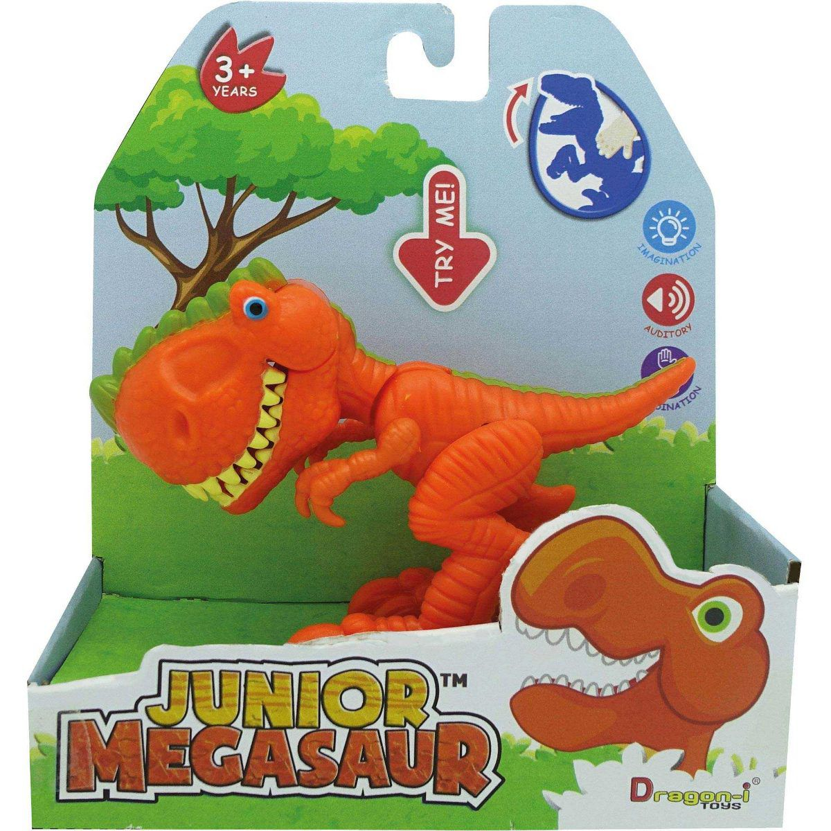 Dinossauro Junior Megasaur Mini Dino