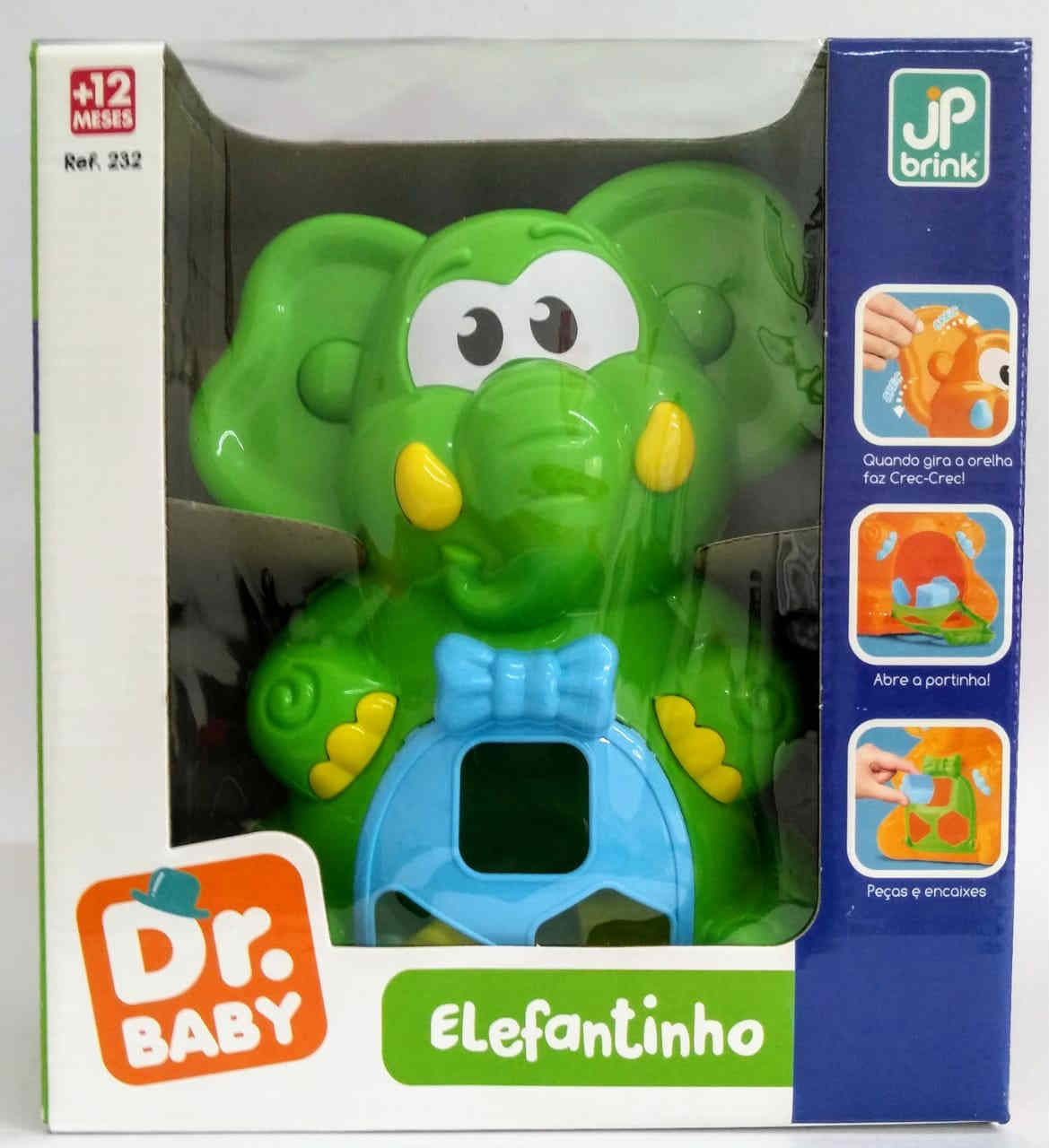 Elefantinho Ted Na Caixa Jp Brink