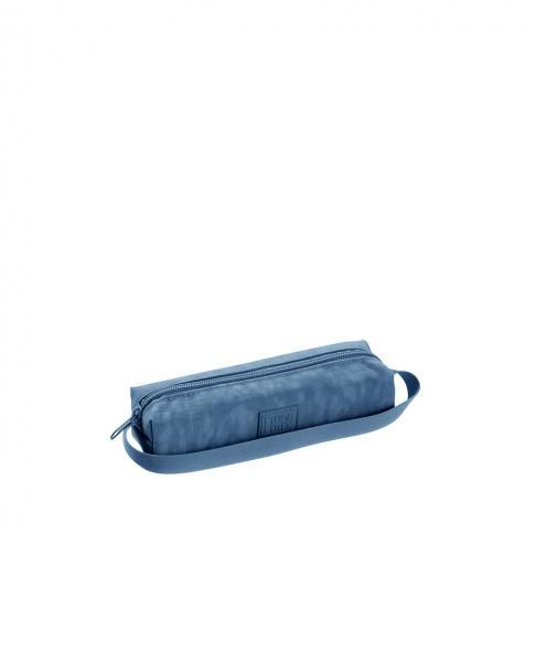 Estojo 1 Divisoria Fluor Mix Soft Conecta Azul Foroni